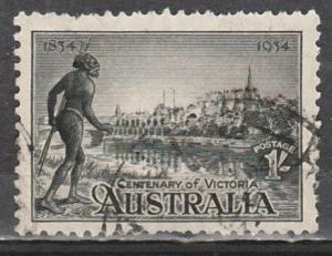 #144a Australia Used Perf 11-1/2