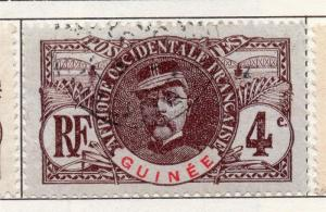 French Guinea 1906 Early Issue Fine Used 4c. 193456