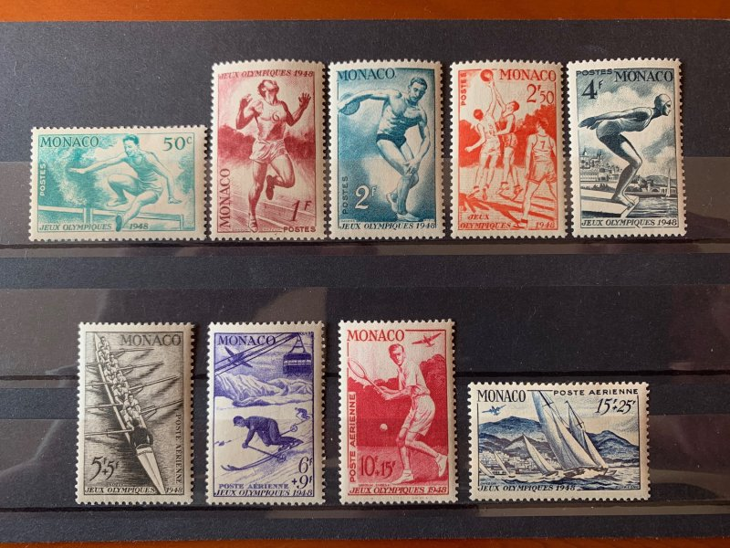 Monaco 1948 Participation in Olympic Games Set