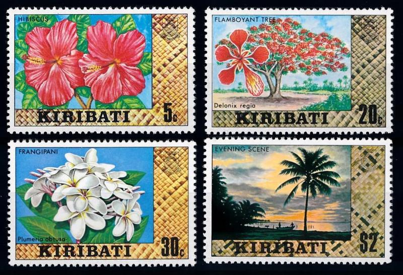 [64793] Kiribati Gilbert Island 1979 Flora Flowers Blumen From Set MLH