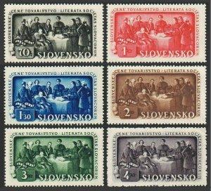 Slovakia 77-82,MNH.Michel 105-110. Slovakian educational Society,150th Ann.1942.