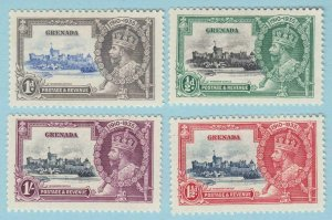 GRENADA 124 - 127  MINT HINGED OG * NO FAULTS VERY FINE !   (2)