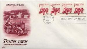 United States, First Day Cover, Automobiles