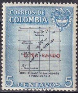 Colombia #C289  F-VF Unused  CV $7.50  (Z6277)