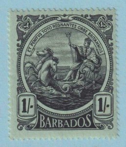 BARBADOS 136  MINT HINGED OG * NO FAULTS VERY FINE !