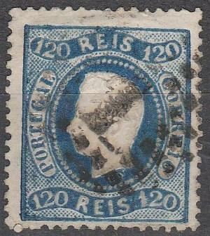 Portugal #32 F-VF Used  CV $67.50 (A16433)