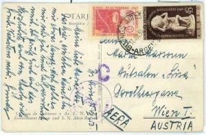 aa3064 - ARGENTINA - POSTAL HISTORY -  ANTARCTIC stamp on POSTCARD to AUSTRIA