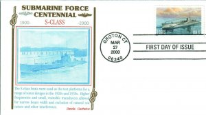 PANDA 3373-7 Submarine Force .22 .33 .55 ,60 3.20 All 5 Stamps covers $4.90 FV