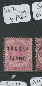 MALAYA SUNGEI UJONG (P0610B) 2C QV  SG 21  MOG