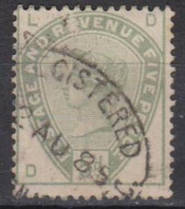 Great Britain #104 F-VF Used CV $200.00 (B9362)