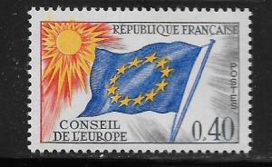 FRANCE, 1O12, MNH, FLAG TYPE
