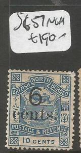 North Borneo SG 57 NGAI (10cma)