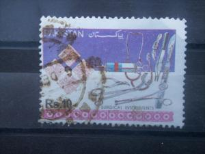 PAKISTAN, 1992, used 10r, Industries, Scott 782