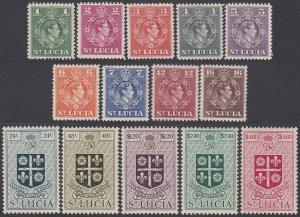 St. Lucia 135-148 MLH CV $44.90