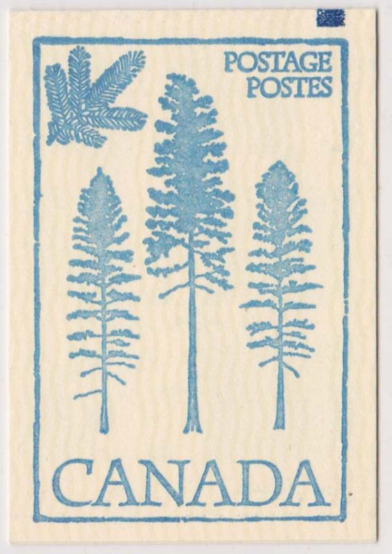 Canada - #BK80a - 1979 Parliament Complete Booklet COUNTER