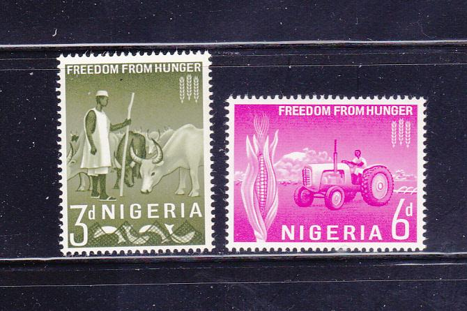 Nigeria 141-142 Set MNH Freedom From Hunger