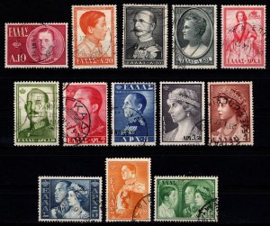 Greece 1957 Royal Family, Part Set (excl. 70l) [Used]