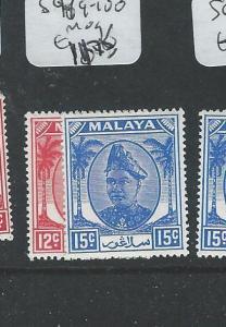 MALAYA SELANGOR (P1208B) SG99-100    MOG