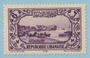 LEBANON 128  MINT HINGED OG * NO FAULTS EXTRA FINE !