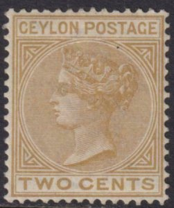 Ceylon 1882 SC 85 Mint