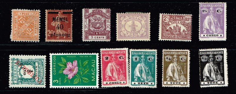 World Stamp Collection Lot #M3