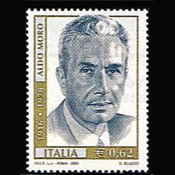 ITALY 2003 - Scott# 2552 Murdered PM.Moro Set of 1 NH