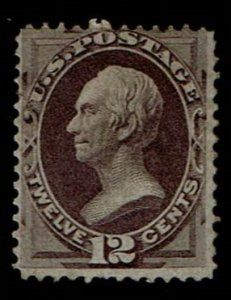 Scott #140 Fine-OG-LH. With 2020 PSE certtificate. SCV - $32,500.00  A Showpiece