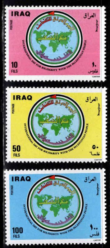 IRAQ Scott 1207-1209 MNH**  set