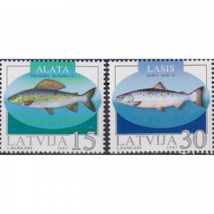 Latvia 2003 Fish  (MNH)  - Fish