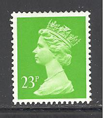 Great Britain MH123 used (DT)