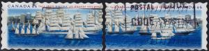 Canada - 2000 - Scott #1864-1865 - used - Tall Ships