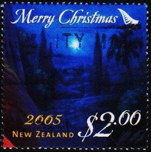 New Zealand. 2005 $2 Fine Used