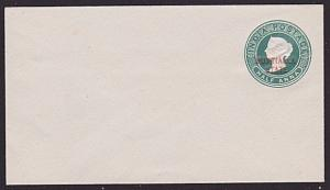 INDIA PATIALA QV ½a envelope oveprinted in red..............................6130
