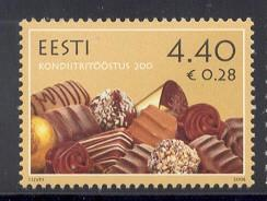 Estonia Sc 545 2006 Confectionery Industry stamp NH