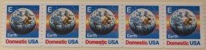 USA 2279  #1111 MNH PNC strip of 5 SCV $3.00