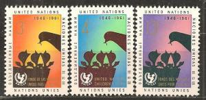 UN #97-9 MNH VF (B5705L)