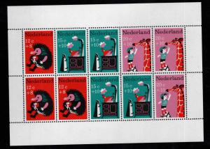 Netherlands Scott B431a MNH**  1967 Souvenir sheet