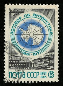 Antarctic Treaty, Post of the Soviet Union, 1961-1971 (T-8074)
