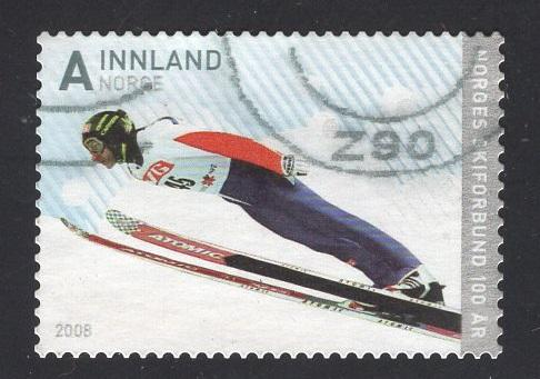 Norway  #1535  2008  used  ski federation  A  Bredesen