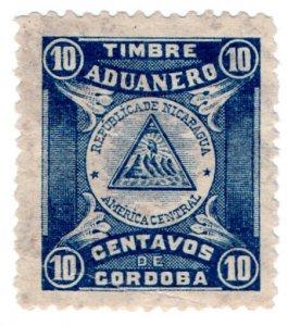 (I.B) Nicaragua Revenue : Customs Duty 10c