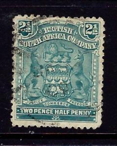 Rhodesia 62 Used 1903 issue
