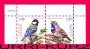 ARMENIA 2011 Nature Fauna Birds 2v se-tenant Sc580-581 Mi753-754Zd MNH