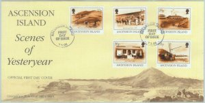 84359 - ASCENSION - Postal History - FDC COVER 1995  Yesteryear