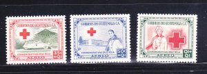 Guatemala CB5-CB7 Set MNH Red Cross (B)