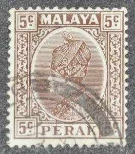 DYNAMITE Stamps: Malaya Perak Scott #72 – USED