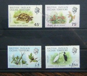 British Indian Ocean Territory 1971 Aldabra Nature Reserve set Used