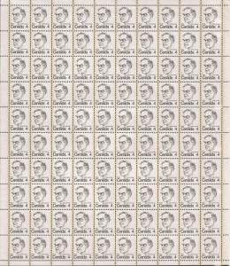 1973 Canada (Sheet) MNH VF - Sc 589 - William Lyon Mackenzie King