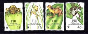 Fiji 591-94 MH 1988  W.W.F. set