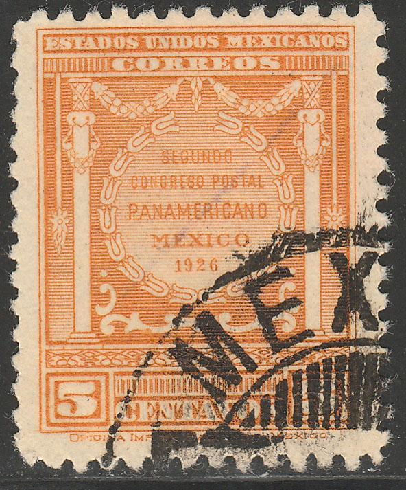 MEXICO 660, 5cents POSTAL CONGRESS. USED. (959)