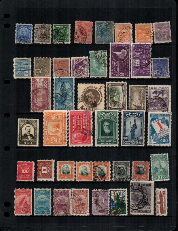 Brazil  42  different MH and used